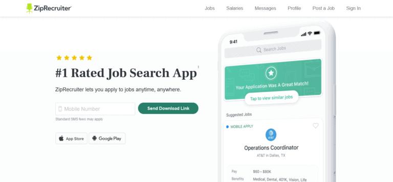 9 Aplikasi Pencarian Kerja Terbaik di AS Bagian 1